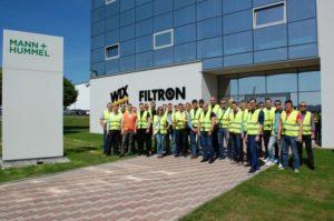 Inter Cars Ukraine здійснила поїздку на фабрику MANN+HUMMEL FT у Польщі