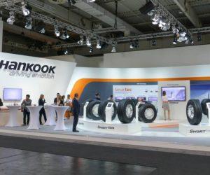Hankook усиливает сегмент грузовых автомобилей