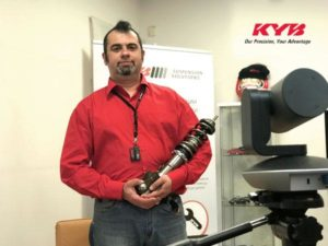 Компания KYB провела серию онлайн-вебинаров