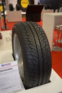 Всесезонные шины GT Radial 4Seasons представлены на выставке The Tire Cologne 2018