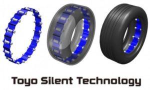 Нова розробка Toyo Tire ефективно знижує шум від шин