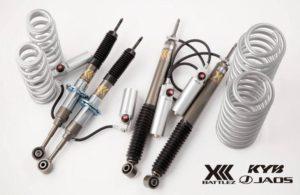 KYB представляет серию комплектов регулируемой подвески
