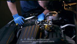 Улучшение света фар на автомобиле SEAT Leon ІІІ при помощи светодиодных ламп Philips X-tremeUltinon