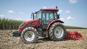 Тракторы Valtra поступят в продажу с шинами от Continental