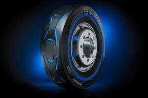 Спеціальна шина для електричних вантажівок від Continental і MAN