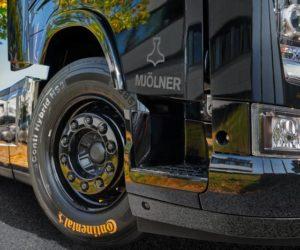 Інноваційні технології компанії Continental втілені у вантажівці Volvo FH