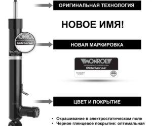 Tenneco расширяет модельный ряд амортизаторов Monroe® с электронным управлением