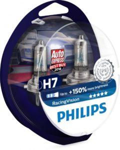 Галогенные лампы Philips RacingVision – «Лучшая покупка» по оценке Auto Express