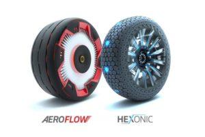 Новые футуристические концептуальные шины от Hankook Tire