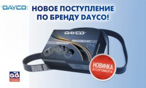 Карго Партс существенно расширил ассортимент продукцией DAYCO