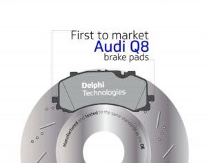 Без промедления! Компания Delphi первая на рынке с тормозными колодками