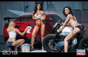 Швидкі автомобілі та красиві жінки у новому календарі LIQUI MOLY 2019