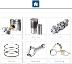 Новинка: продукты в фокусе внимания на сайте Motorservice