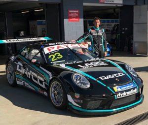 Фирменные цвета компании Dayco украшают болид австралийского Porsche Carrera Cup 2019