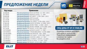 Специальные предложения 19-ой недели от ЭЛИТ-Украина