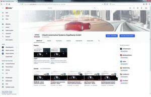Новий YouTube канал від Hitachi