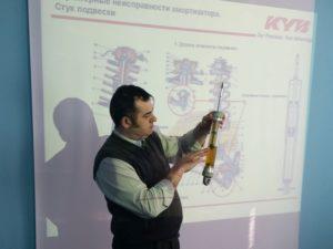 KYB продовжує проводити технічні семінари