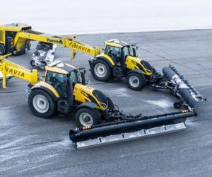 Valtra і Nokian Tyres об'єднують зусилля в рамках проекту автономного прибирання снігу