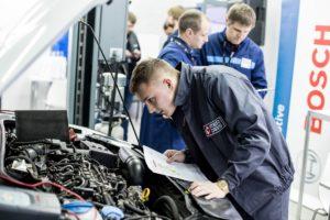 Bosch - технічний партнер конкурсу Young Car Mechanic