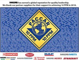 Награда за качество от PACCAR для DAYCO
