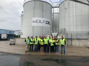 Поїздка ASG на виробництво WOLF у Бельгію