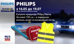 Карго Партс представляє акцію Philips