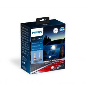 Philips представляет новые светодиодные лампы головного света X-tremeUltinon