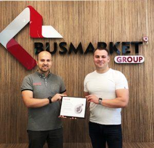 Компанія BusMarket Group отримала нагороду від бренду Garrett