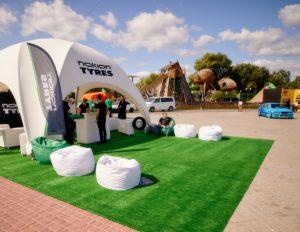 Nokian Tyres на фестивале New Cars Fest