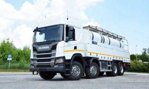 Scania выбрала шины Continental для грузовика  G440B8x4HZ Евро 5 ADR EX/III