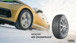 Новые шины WR Snowproof – спокойствие на зимних дорогах