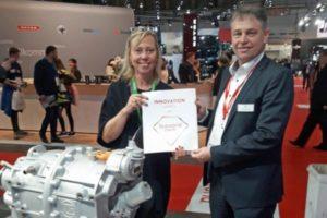 Концерн ZF удостоен награды за разработку центрального электропривода CeTrax