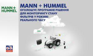 Програмне рішення для моніторингу стану фільтрів у режимі реального часу від Mann + Hummel