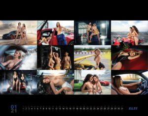 Ексклюзивно: Гарячі українські дівчата в календарі ЕЛІТ 2020