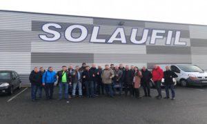 Команда MecaFilter Україна відвідала виробництво SOLAUFIL
