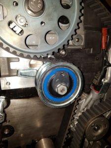 Gates Techzone: процедура установки натяжителя T43245