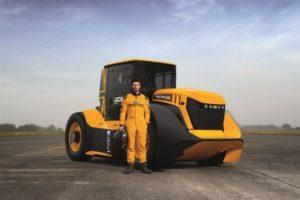 DENSO создала систему охлаждения для самого быстрого в мире трактора