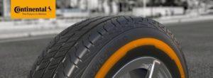 Технологія ContiSeal на нових легковантажних шинах від Continental