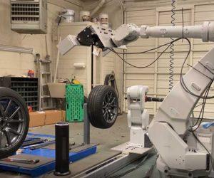 Шиномонтажников могут заменить роботы