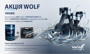 Акція Wolf у квітні