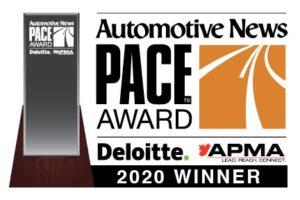Компания Tenneco получила награду премии Automotive News PACE 2020