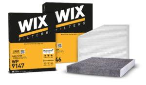WIX Filters представляє нову упаковку салонних фільтрів