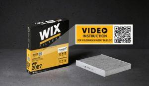 Відео-інструкції для салонних фільтрів від WIX Filters