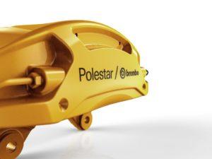 Высокая эффективность тормозной системы Brembo Polestar 2