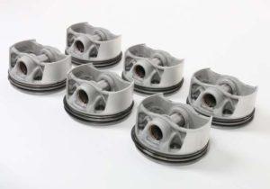 Поршни для суперкара Porsche напечатаные на 3D-принтере