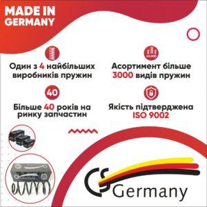 AVDtrade: CS Germany – пружини, які не просідають після пробігу в кілька сотень тисяч кілометрів!