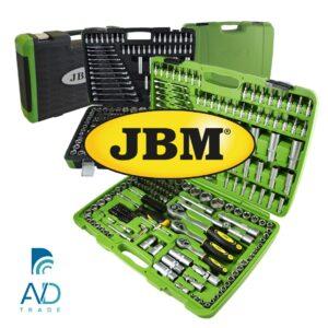 AVDtrade: JBM - огляд універсального набору інструментів на 216 предметів