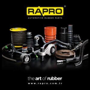 AVDtrade: RAPRO – виробник гумових та гумово-металевих виробів