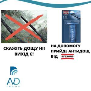 AVDtrade: Тестування Rain off (Антидощу) від Arexons