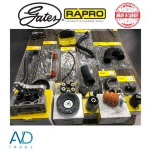 AVDtrade: Огляд бренду RAPRO – виробника гумових та гумово-металевих запчастин